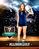 Creekview High School Volleyball 2014