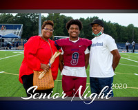 2020 Woodstock High School Senior Night Photos Varsity Football