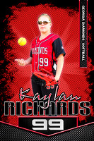 #99 Kaylan Richards Banner