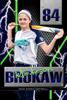 #84 Madison Brokaw Banner