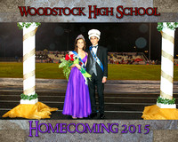 Woodstock High School vs Lassiter High School - Homecoming