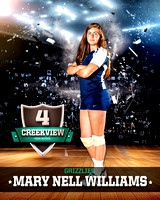 #4 Mary Nell Williams