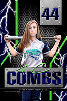 #44 Taylor Combs Banner